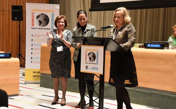Sueli Kaiser participa de evento dos WEPs em Nova York