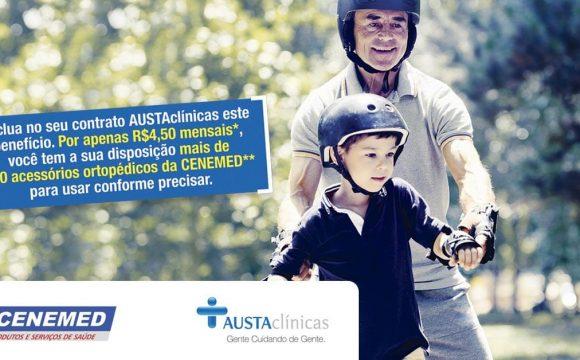 Cliente AUSTAclínicas tem à disposição acessórios ortopédicos