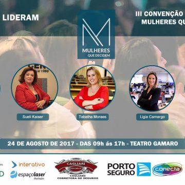 """Sueli Kaiser participa da convenção anual """"Mulheres Que Decidem"""""""