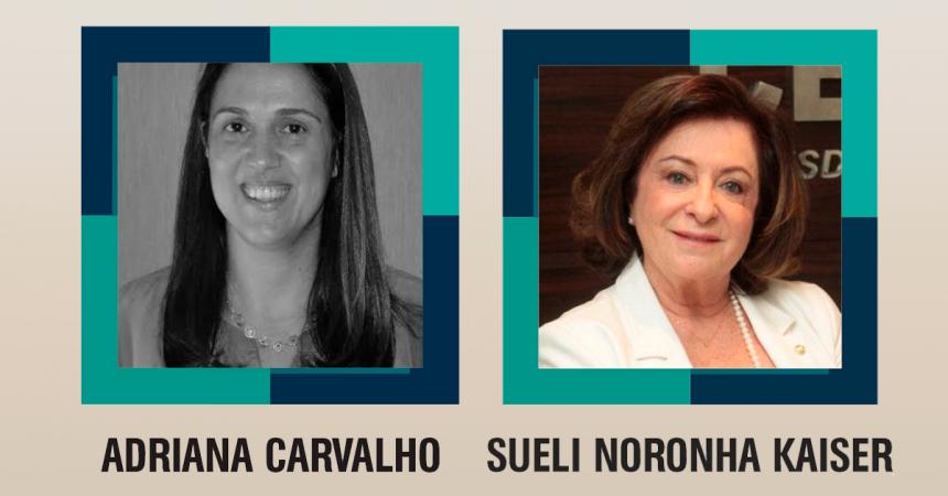Adriana Carvalho e Sueli Kaiser participam da Jornada de Mulheres Escritoras e fazem mentoria de empoderamento