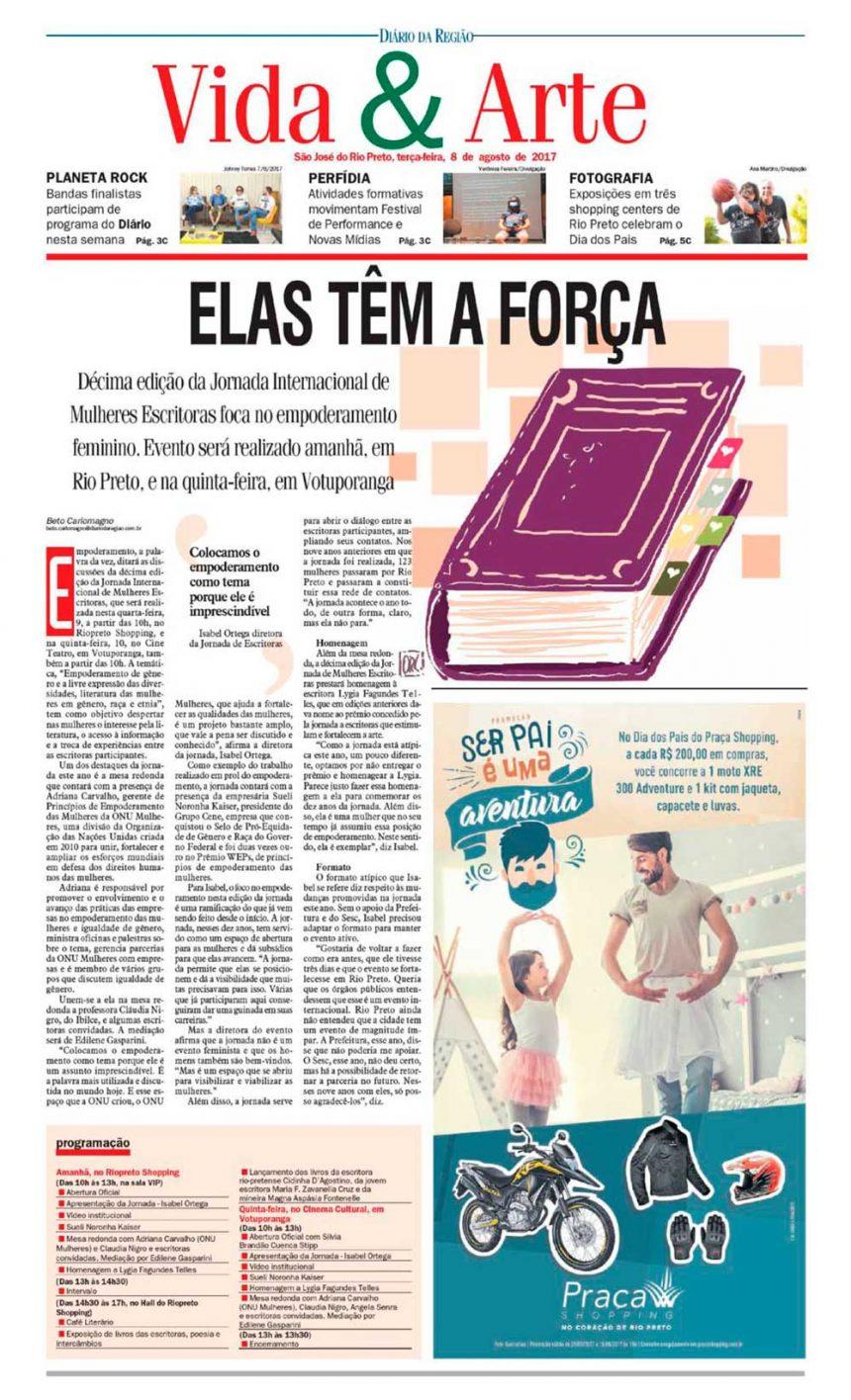 Participação de Sueli Kaiser em Jornada e mentoria é destaque na imprensa