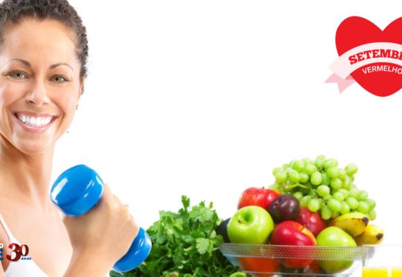 Saúde do coração: alimentação balanceada e atividade física