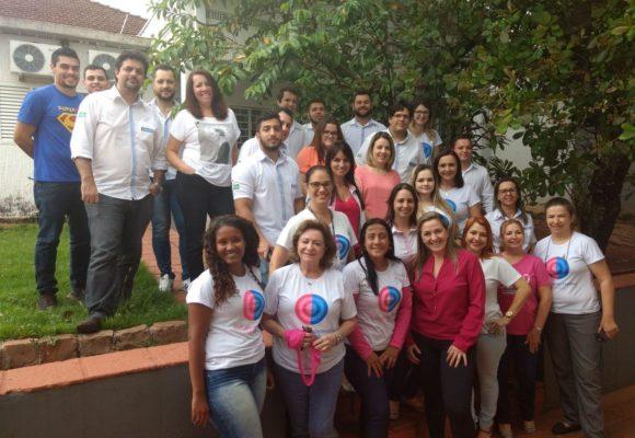 Grupo Cene nas ações de conscientização durante o Outubro Rosa
