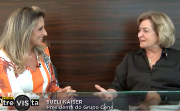 Grupo Cene no Record Entrevista