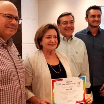 Grupo Cene é a primeira a receber o selo Empresa Amiga da Cultura
