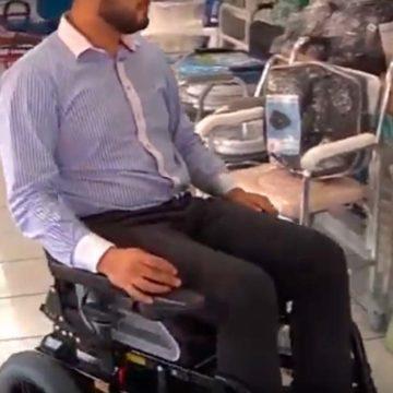 Cadeira de rodas automática Ottobock