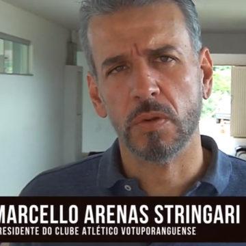 Entrevista com o presidente do Votuporanguense – Apoio esportivo Cenemed