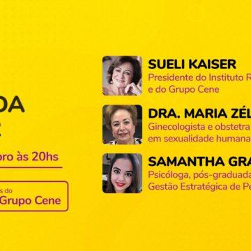 """""""Saúde da Mulher"""" é tema de live promovida pela Instituto Roka em parceria com o Grupo Cene"""